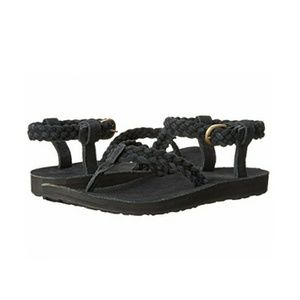 Teva the original sandal suede braid